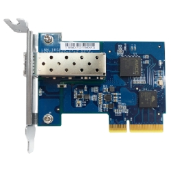 Single-port SFP+ network expansion card, rackmount/desktop/Full Height  bracket