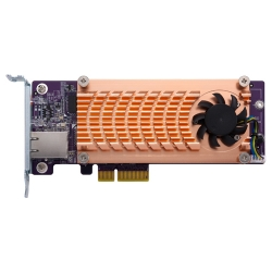 Dual M.2 2280 SATA SSD & single-port 10GbE expansion card