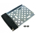 Black drive tray for 2.5 inch SSD/HDD