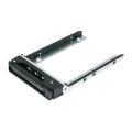 """SSD Tray for 2.5"""" drives without key lock, black, plastic"""