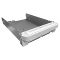 """3.5"""" HDD Tray for HS-453DX, without key lock, white, metal"""