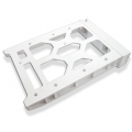 HDD Tray without key lock, white, plastic