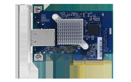 Single-port (10Gbase-T) 10GbE network expansion card, PCIe Gen2 x4