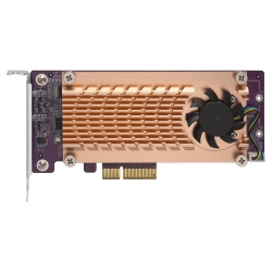 Dual M.2 22110/2280 SATA SSD expansion card