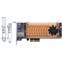 Dual M.2 2280 PCIe SSD & single-port 10GbE expansion card