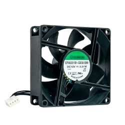 80x80x25mm fan, 12V, 4PIN