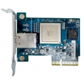 Single-port 10GBASE-T network expansion card, rackmount bracket