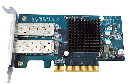 Dual-port 10GbE SFP+ network expansion card