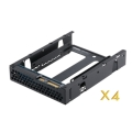 6 Gbps 3.5-inch SAS to 2.5-inch SATA drive adapter in 3.5-inch drive form factor for dual controller servers