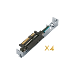 6Gbps SAS to SATA adapter for QNAP ES NAS drive trays (Tray P/N: SP-ES-TRAY-WOLOCK)