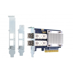 Dual-port 32Gb Gen 6 Fibre Channel Host Bus Adapter with SFP+ transceivers