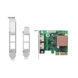 Dual-port 2.5 GbE network expansion card