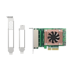 Quad-port 2.5 GbE network expansion card