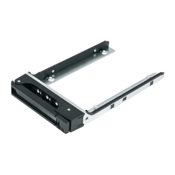 "SSD Tray for 2.5"" drives without key lock, black, plastic"