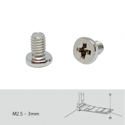 Screw pack for M.2 SSD installation, 96 pieces, Pan head machine screw