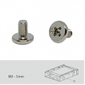 """Screw pack for 2.5"""" SSD/PCB installation, 96 pieces, Pan head machine screw"""